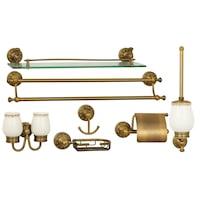 set accesorii baie bronz