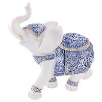 Декоративна фигура, Слон голям, 24551, Многоцветен, 25х20см