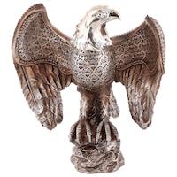 Декоративна фигура, Орел, 7184, Многоцветен, 19х20см