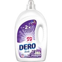 Dero 2in1 Folyékony mosószer, Levendula és jázmin, 80 mosás, 4 l