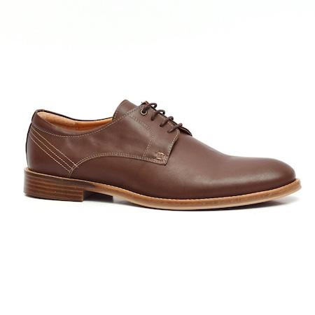 Pantofi casual barbati, VL1 Maro Inchis, din Piele Naturala 40EU