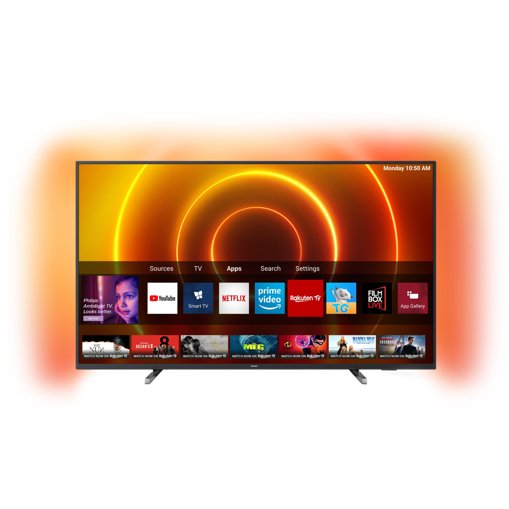 Fotografie Televizor Philips 43PUS7805/12, 108 cm, Smart, 4K Ultra HD, LED, Clasa G