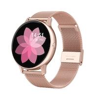 Смарт часовник Smart Wear GT88 PRO, IP67 Водоустойчивост, Калории, HR, Bluetooth, Ултратънък, Розово Злато