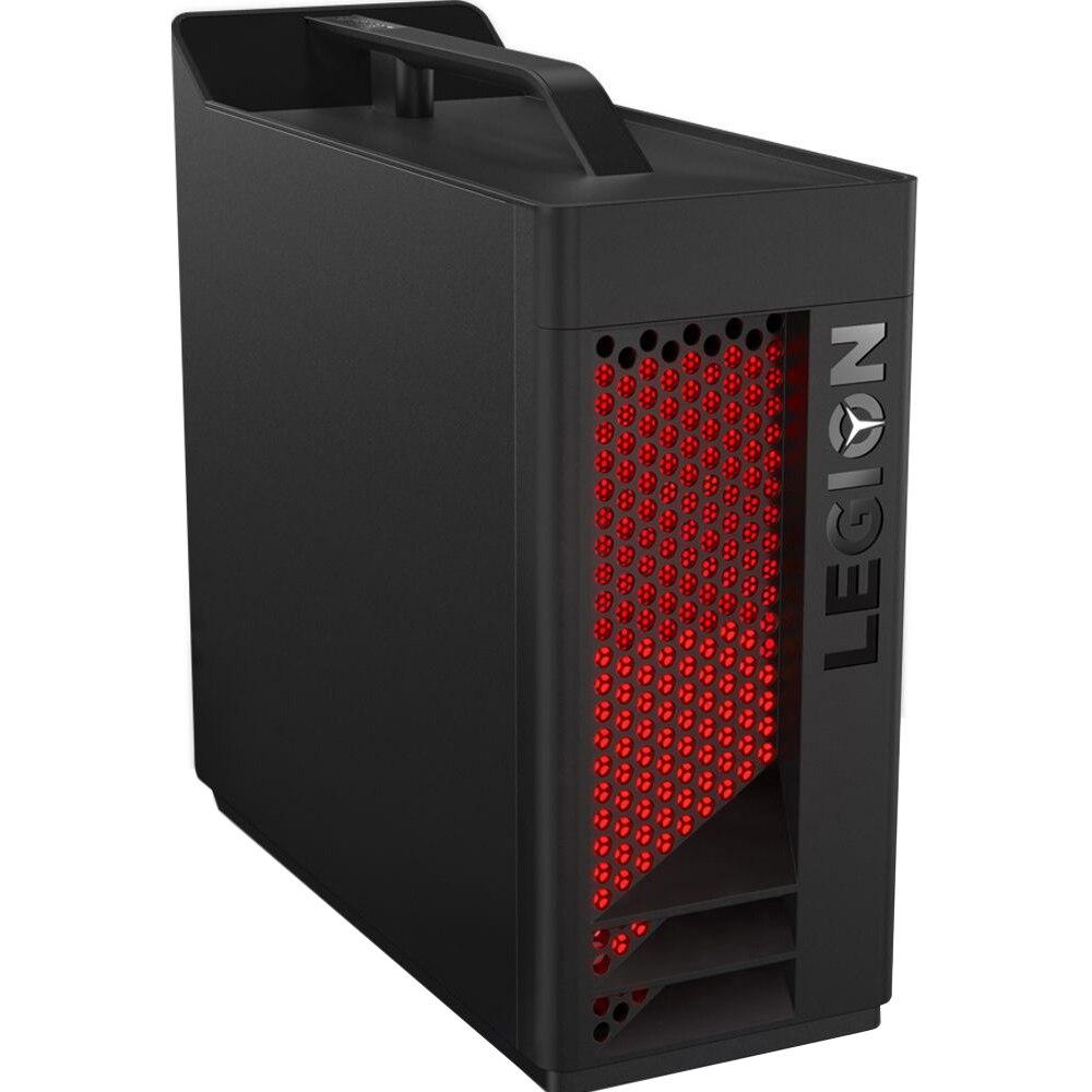 Fotografie Sistem Gaming PC Lenovo Legion T530-28APR cu procesor AMD Ryzen™ 5 3600 pana la 4.20 GHz, 16GB DDR4, 256GB SSD M.2 2280 PCIe + 1TB HDD, DVD-RW, NVIDIA GeForce GTX 1650 4GB GDDR5, Free DOS, Mouse + Tastatura