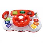 Interaktív játék kormánykerék csecsemők számára, többféle tevékenységgel, többszínű