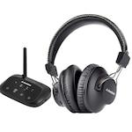 Avantree HT5009 Bluetooth fejhallgató AS9S Plus Bluetooth adó-adapter BTTC-500P, tévéhez, házimozihoz
