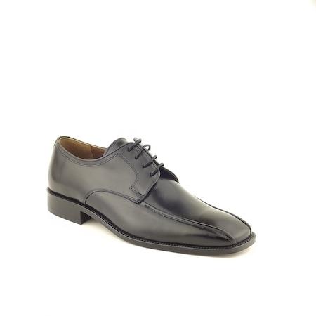 Pantofi Eleganti Barbati Gran Lujo 7398, Negru, piele naturala, 43