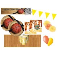Set 20 accesorii petrecere, Creative coverting, Model baschet, Multicolor