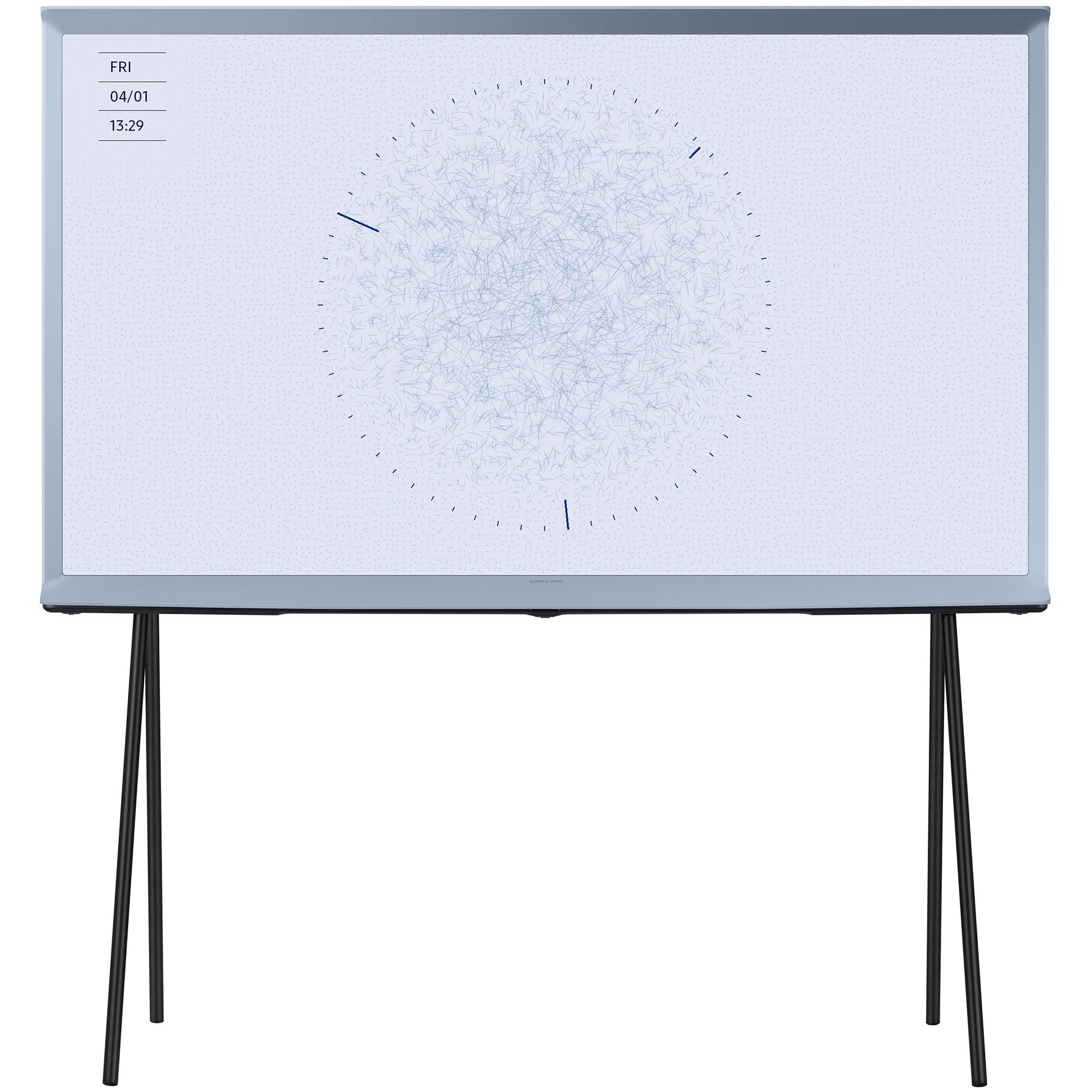 Fotografie Televizor Samsung The Serif 49LS01TB, 123 cm, Smart, 4K Ultra HD, QLED, Clasa G