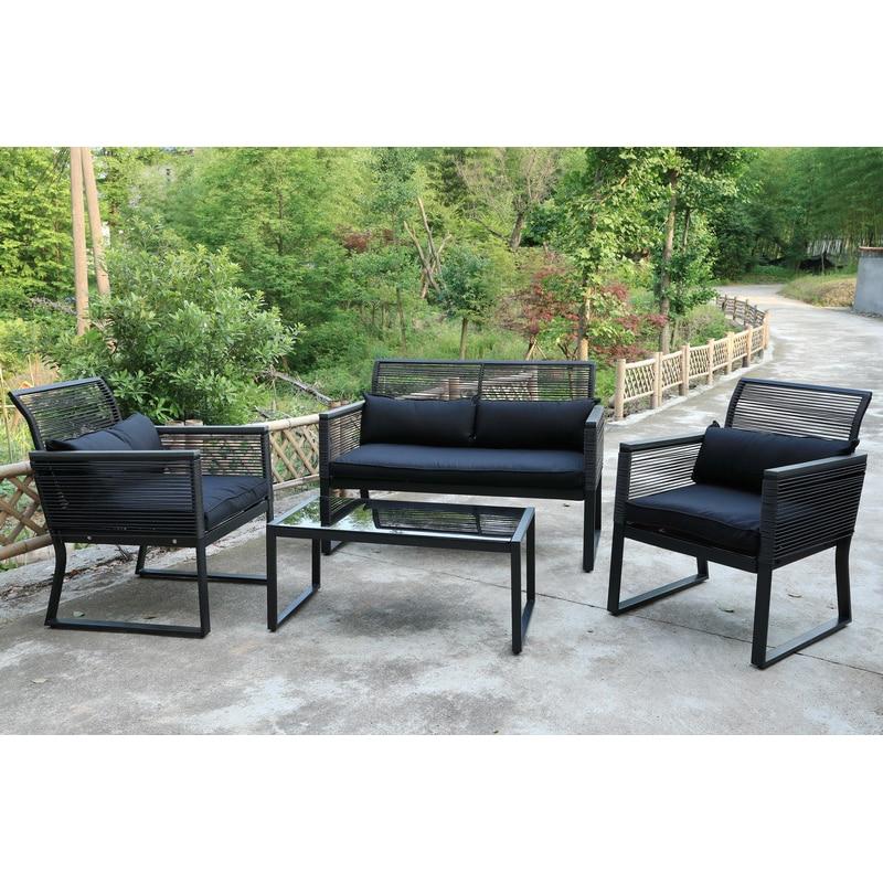 Fotografie Set mobilier gradina/terasa Kring Cocco, masa, canapea, 2 fotolii