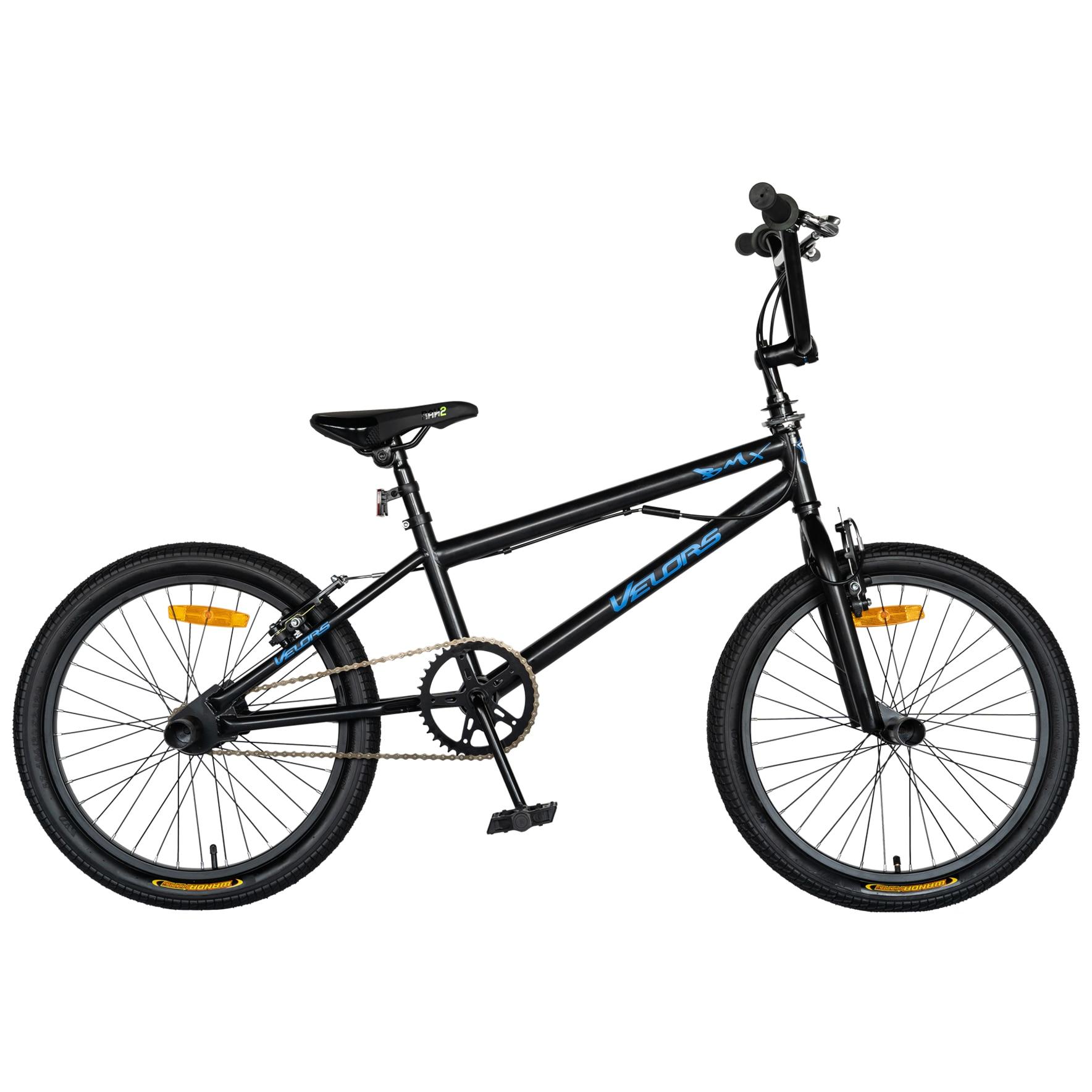 Fotografie Bicicleta BMX Carpat V2016A Peg-uri incluse, Negru/Albastru