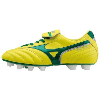 Mizuno MRL Club MD futballcipő, Sárga/Zöld