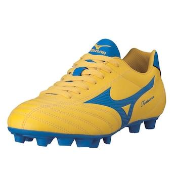 Mizuno Fortuna 4 MD futballcipő, Sárga/Kék