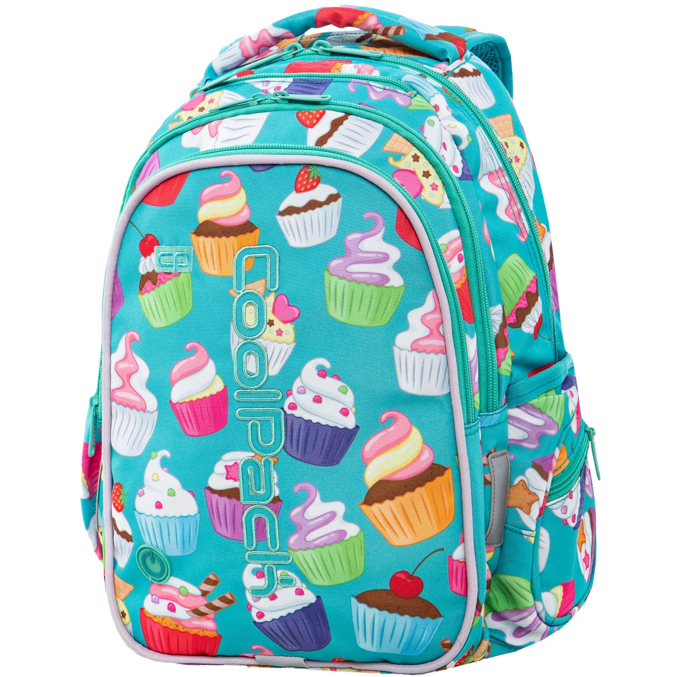 Fotografie Ghiozdan LED Coolpack JOY YOUTH CUPCAKES, 41 x 29 x 20 cm
