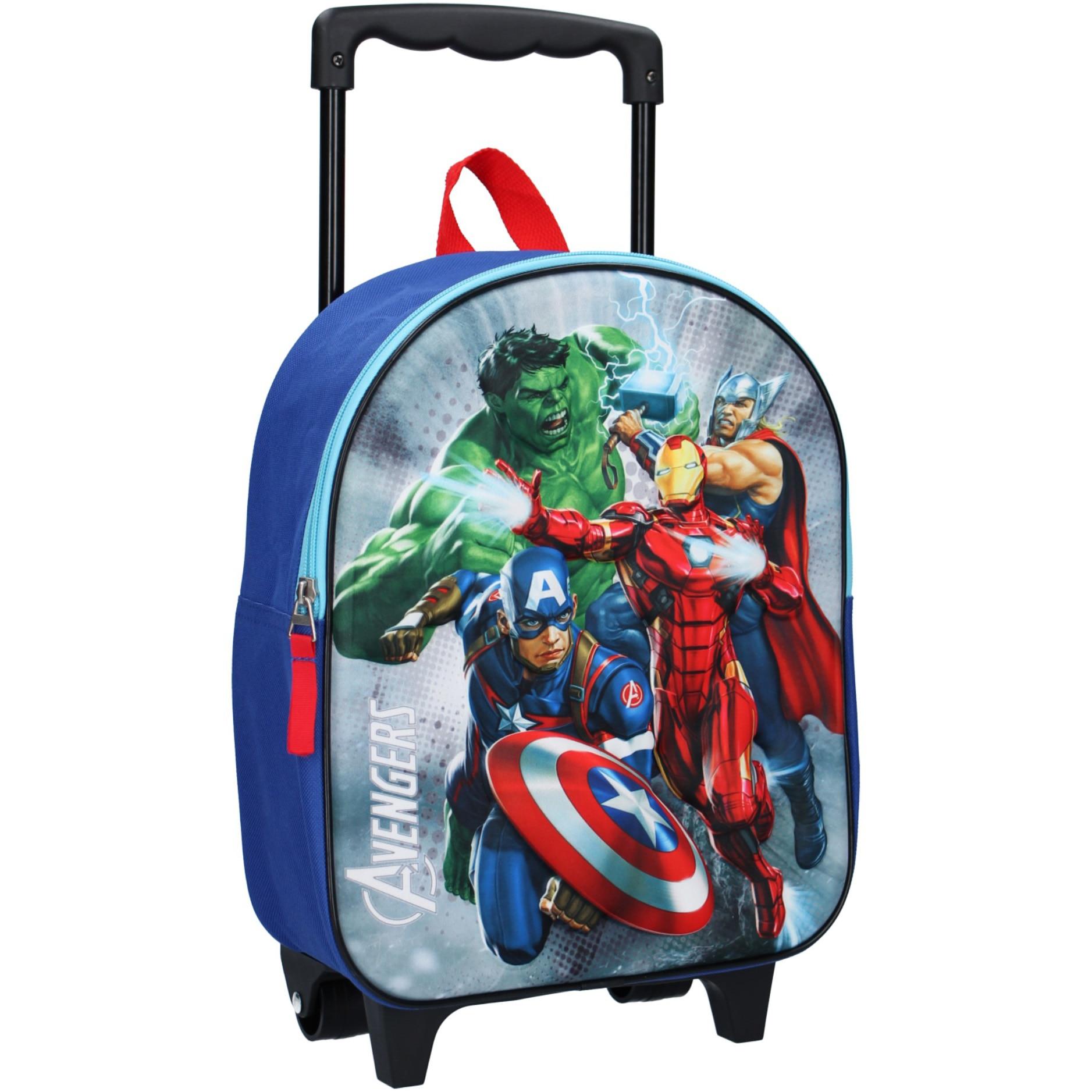 Fotografie Ghiozdan Troller Avengers Save The day (3D), 12 x 25 x 31 cm