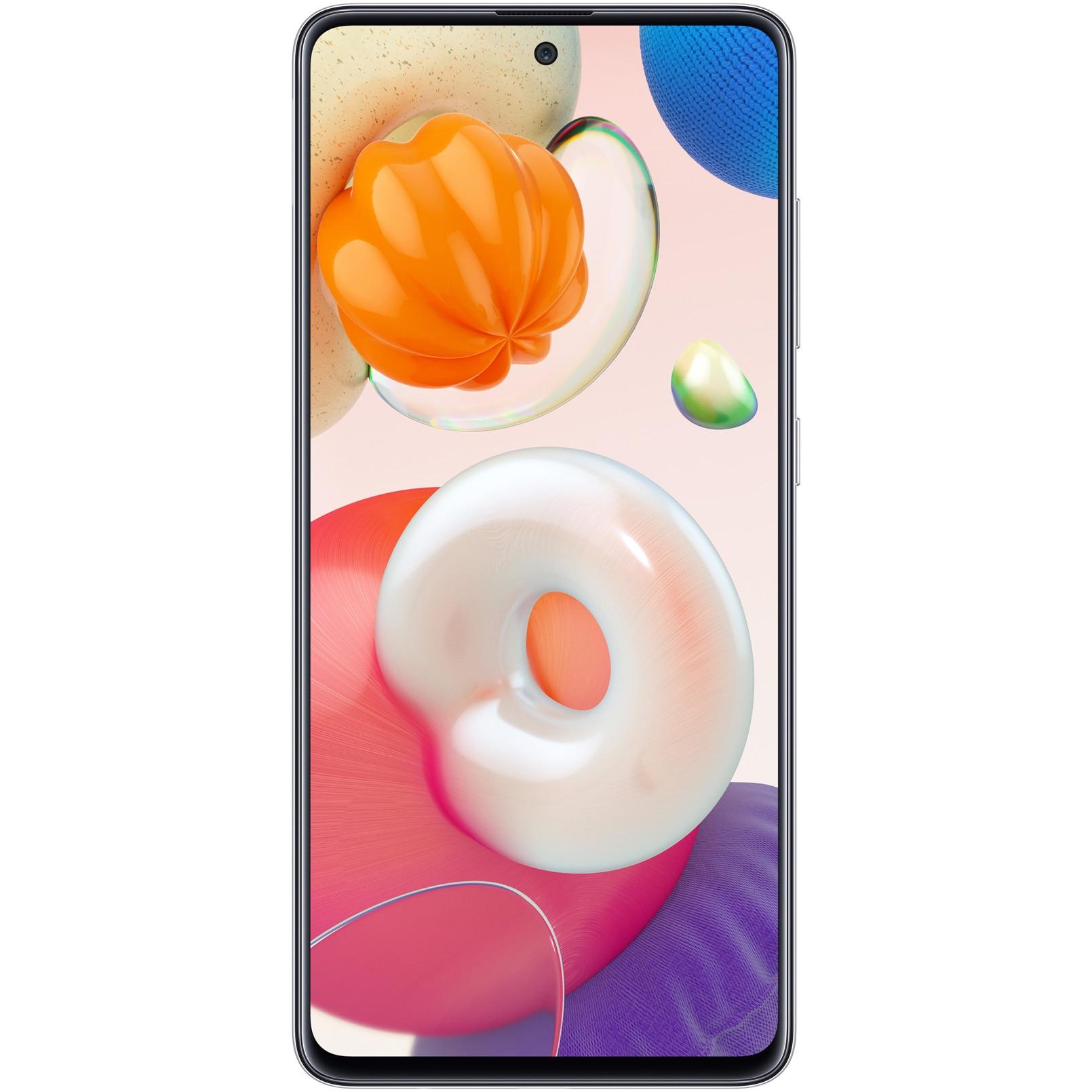 Fotografie Telefon mobil Samsung Galaxy A51, Dual SIM, 128GB, 4GB RAM, 4G, Prism Silver