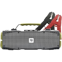 Boxa portabila wireless bluetooth 4.0, 30 W RMS, IPX5, Survivor Dreamwave, redresor auto si lanterna, verde