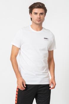 Puma, Tetris póló nagy logóval a hátoldalán, Fehér/Fekete, S
