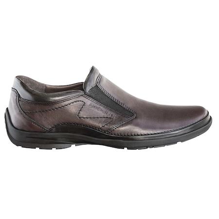 Pantofi barbati, Gitanos, casual, piele naturala, maro, 45, 102
