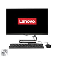 "Настолен компютър All-in-One LENOVO IdeaCentre 3 27IMB05, 27"", Intel® Core™ i5-10400T, RAM 8GB, SSD 512GB, Intel® UHD Graphics 630, Free DOS, Black, Мишка + Клавиатура"