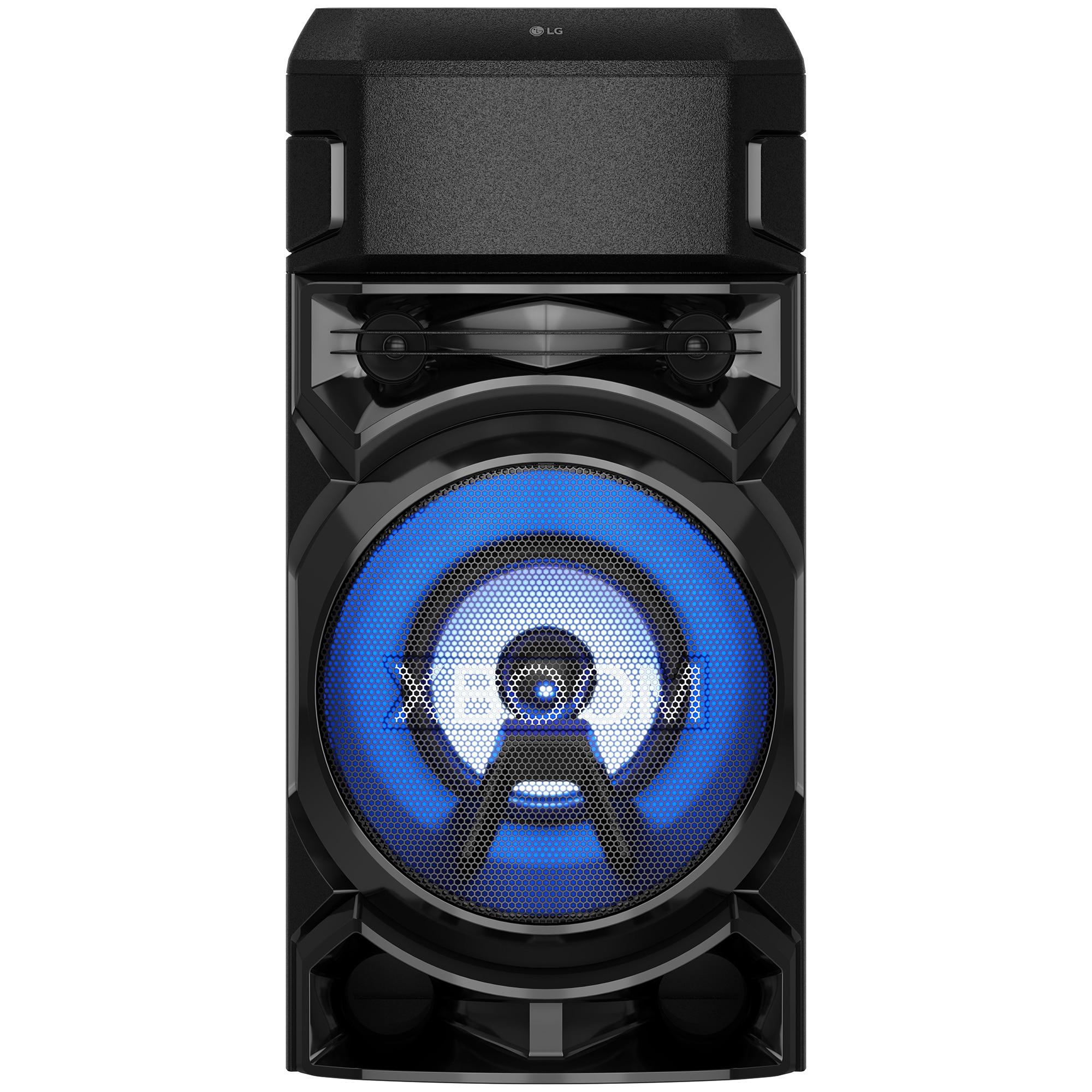 Fotografie Sistem audio LG XBOOM RN5, Bluetooth, Dual-USB, Radio FM, Karaoke Creator, Party Lighting, negru