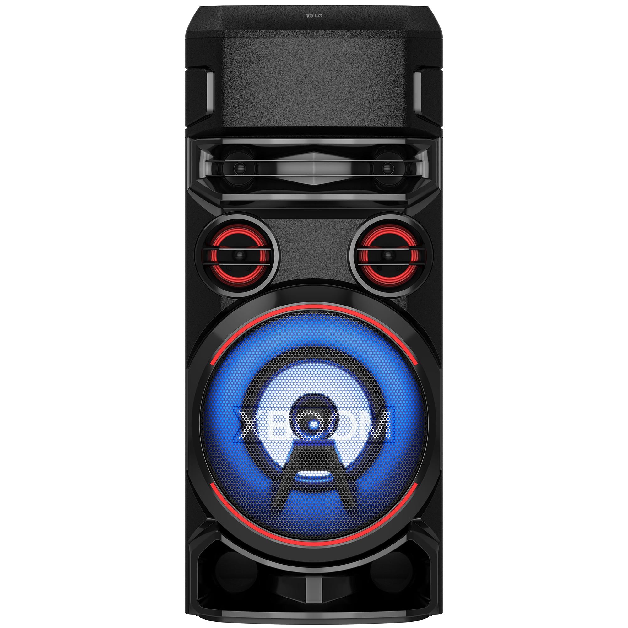 Fotografie Sistem audio LG XBOOM RN7, Bluetooth, Dual-USB,Optical, Karaoke Creator, Party Lighting, Double Bass-Boost, negru