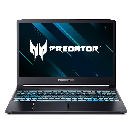 Лаптоп Acer Predator PT315-52-70KR Triton 300 с Intel Core i7-10750H (2.6/5GHz, 12M), 16 GB, 2 TB M.2 NVMe SSD, NVIDIA RTX 2060 6GB GDDR6, Windows 10 Home 64-bit, черен
