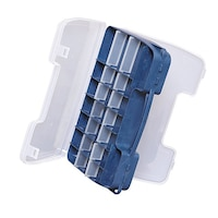 Риболовна кутия Salmo 2546 - двустранна, Пластмаса, Син