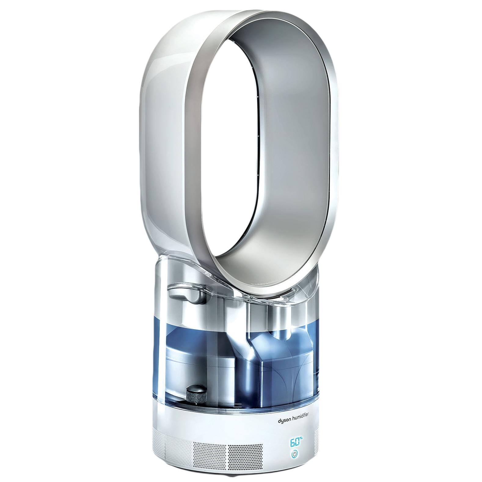 Fotografie Umidificator Dyson AM10, Ultraviolet Cleanse, 10 nivele de filtrare, alb / argintiu