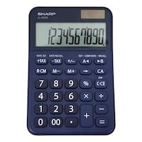 Calculator de birou SHARP 10 digits, dual power,EL-M335BBL - bleumarin