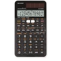 Calculator stiintific SHARP 12 digits, 273 functiuni, dual power,EL-510RT - negru