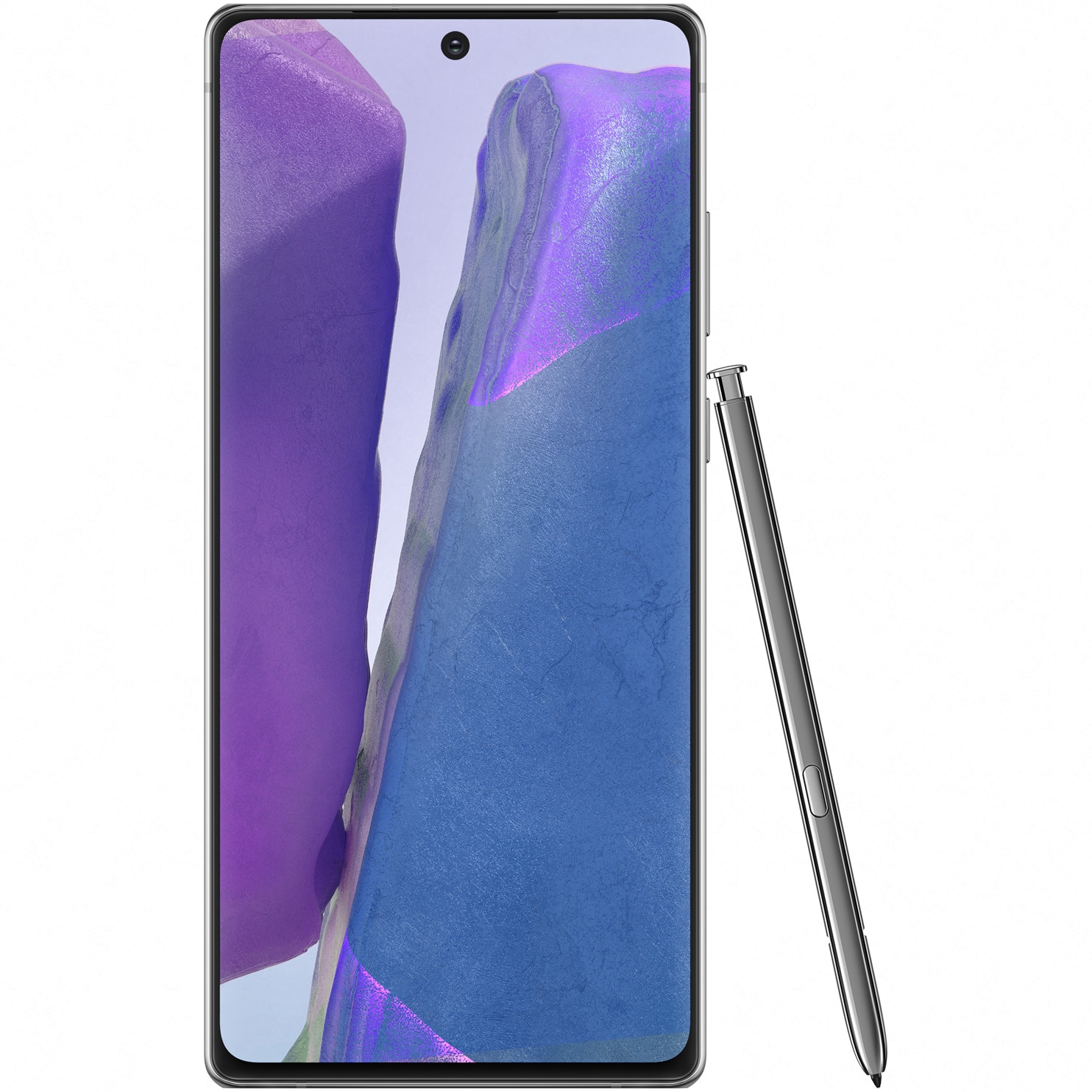 Fotografie Telefon mobil Samsung Galaxy Note 20, Dual SIM, 256GB, 8GB RAM, 5G, Mystic Gray