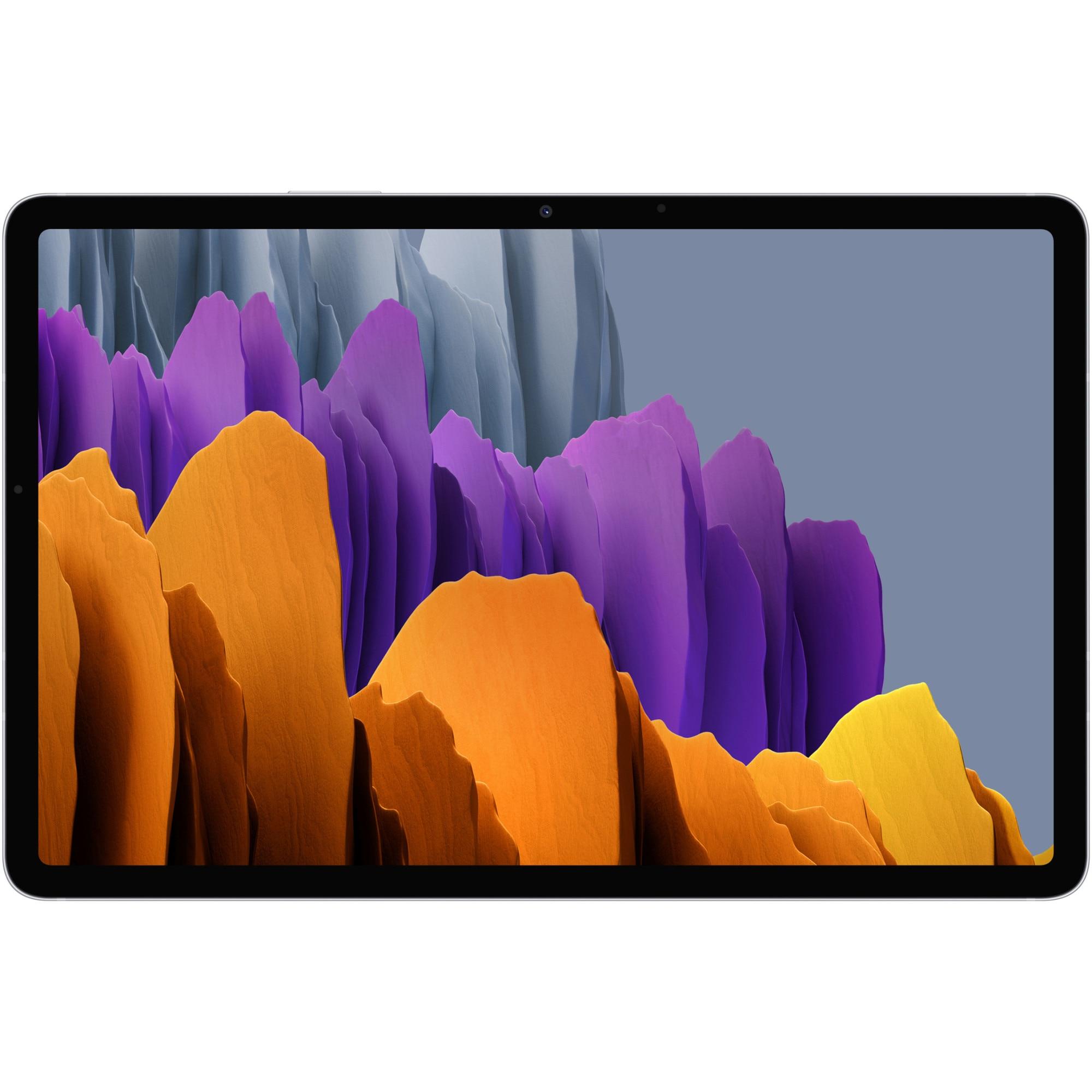 """Fotografie Tableta Samsung Galaxy Tab S7, Octa-Core, 11"""", 6GB RAM, 128GB, Wi-Fi, Mystic Silver"""