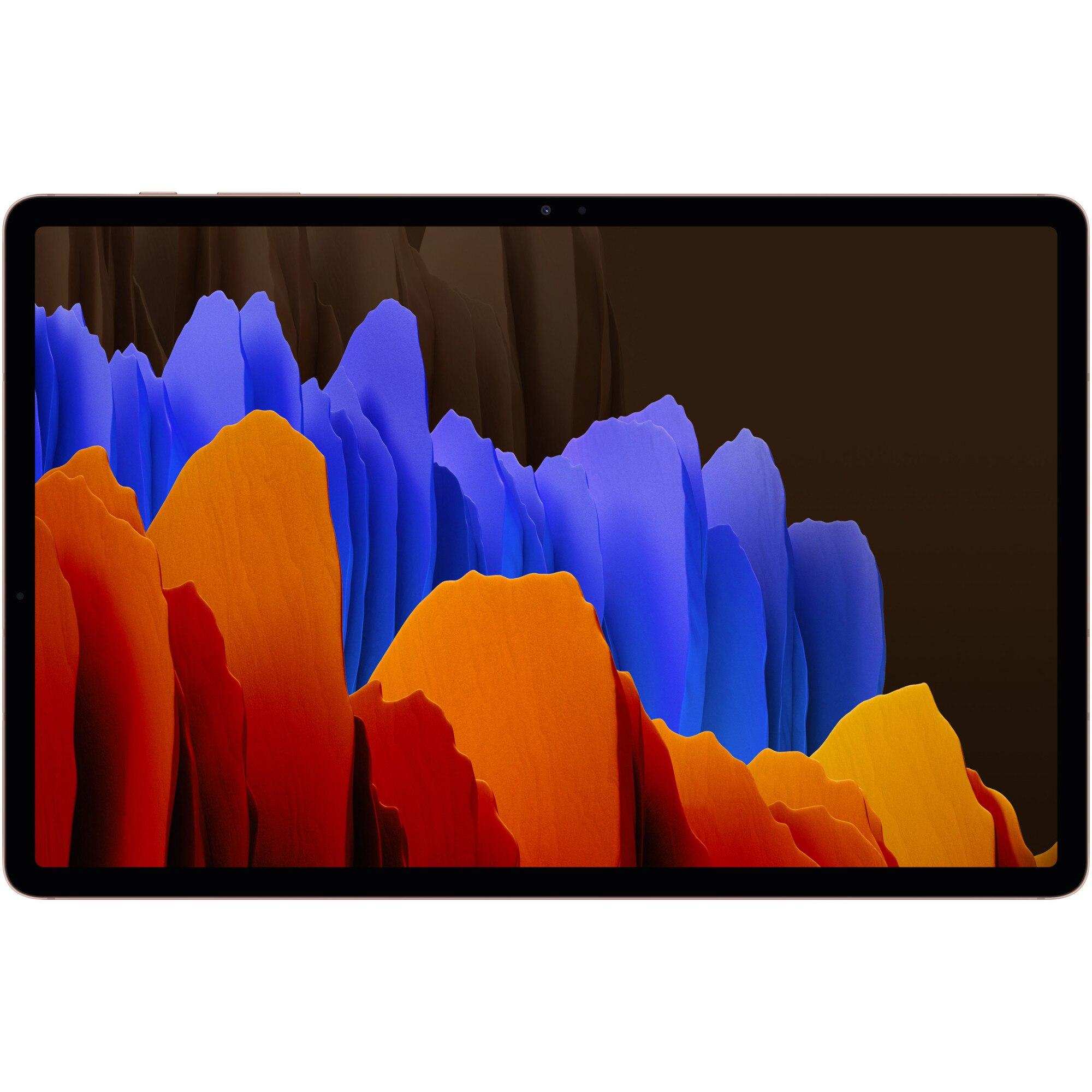 """Fotografie Tableta Samsung Galaxy Tab S7 Plus, Octa-Core, 12.4"""", 6GB RAM, 128GB, Wi-Fi, Mystic Bronze"""