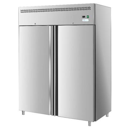 Frigider profesional Forcold G-GN1200TN-FC, refrigerare statica, capacitate 1200 l, temperatura -2°C/+8°C, inox