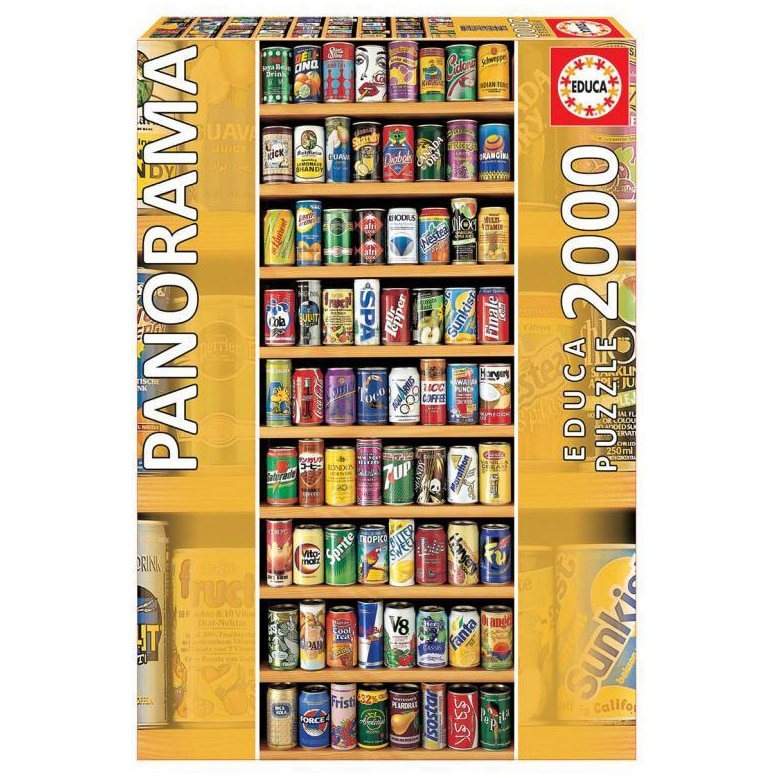 Fotografie Puzzle Educa - Soft cans, 2000 piese