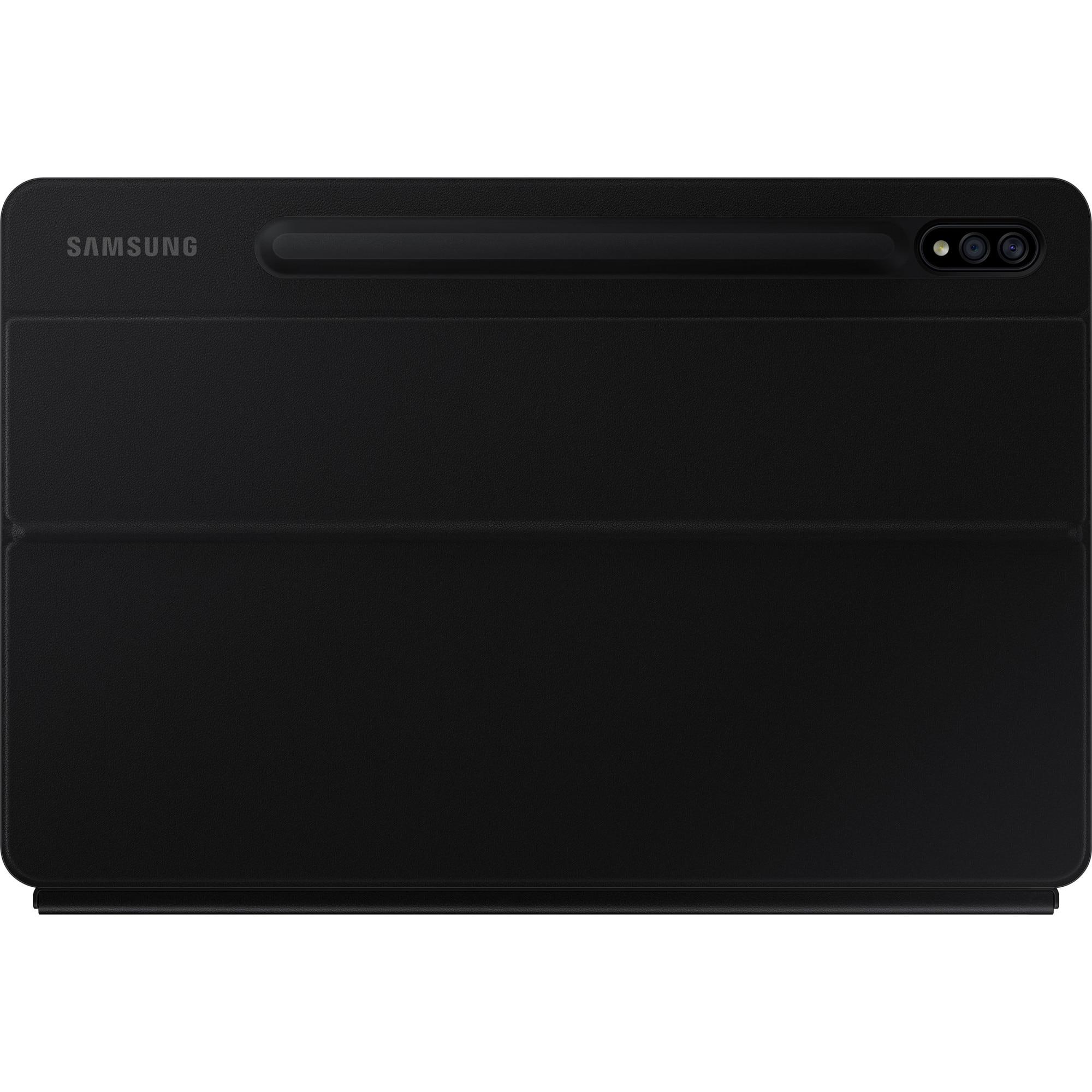 Fotografie Husa de protectie Samsung Bookcover Keyboard pentru Galaxy Tab S7, Black