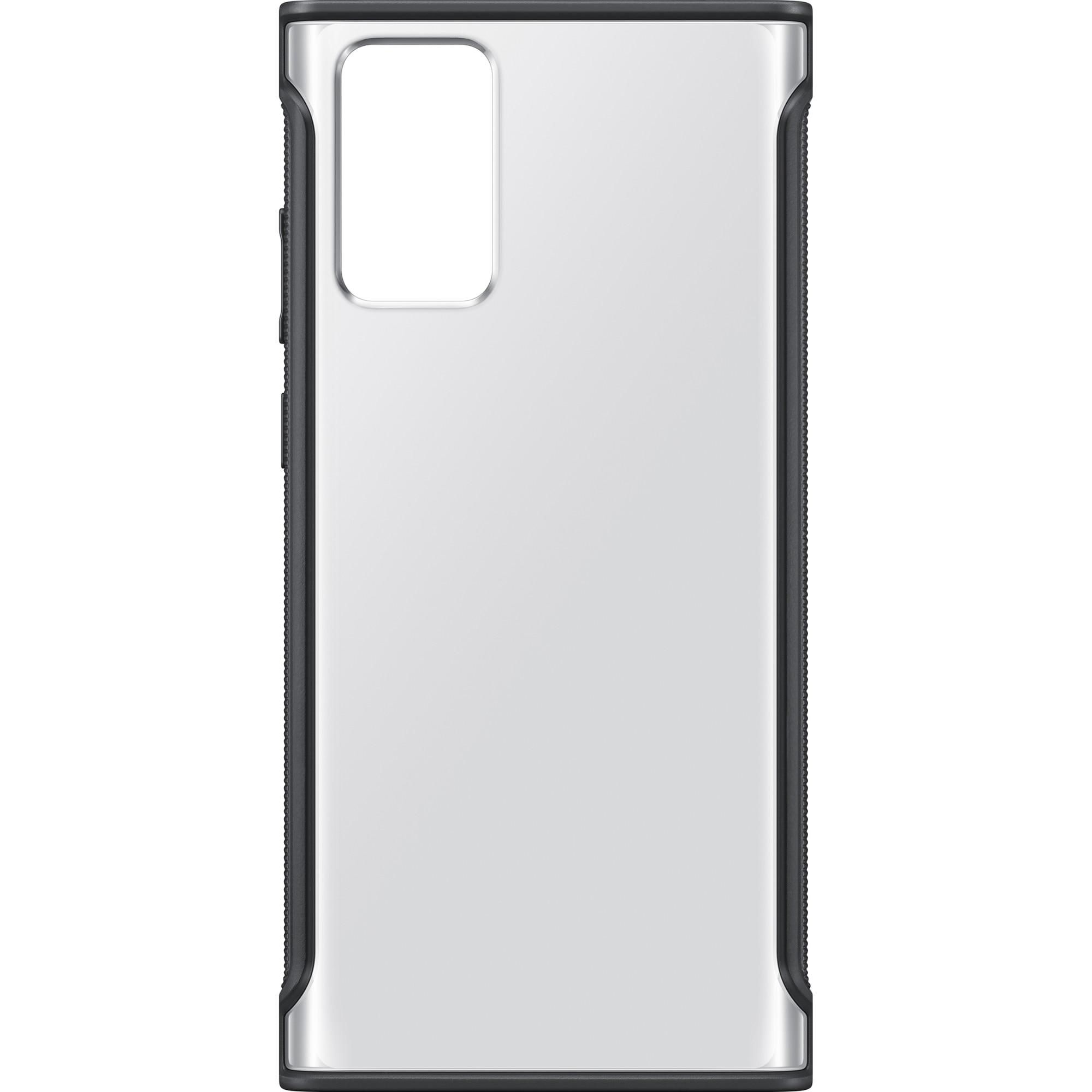 Fotografie Husa de protectie Samsung Clear Protective pentru Galaxy Note 20, Black