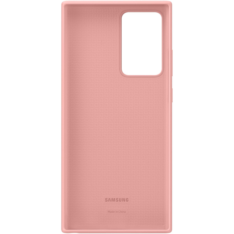 Fotografie Husa de protectie Samsung Silicone pentru Galaxy Note 20 Ultra, Copper Brown