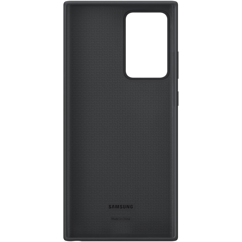 Fotografie Husa de protectie Samsung Silicone pentru Galaxy Note 20 Ultra, Black