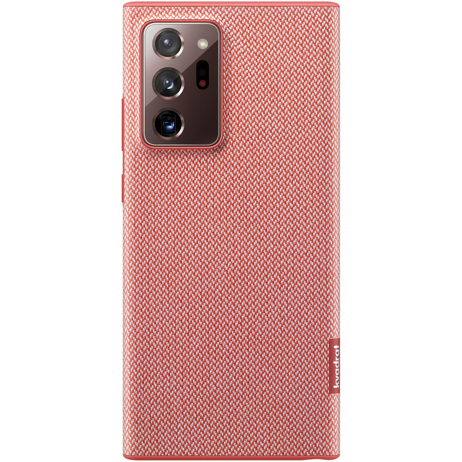 Fotografie Husa de protectie Samsung Kvadrat pentru Galaxy Note 20 Ultra, Red