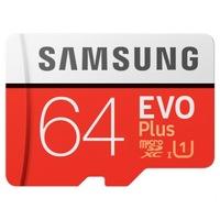 Samsung EVO Plus microSDXC memóriakártya, 64GB