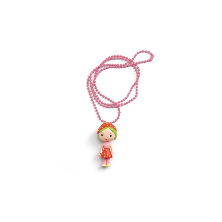 Álomvilág figurák - Eperke nyaklánc - Berry icrECm