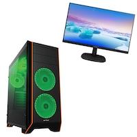 """Gaming PC Pro457, Asztali számítógép, Intel® Core™ I5 4570 GHz, Memória kapacitás 8GB RAM, Tárolási kapacitás 240SSD, videokártya GeForce GT710, Bluelight, Monitor 24"""" PHILIPS"""