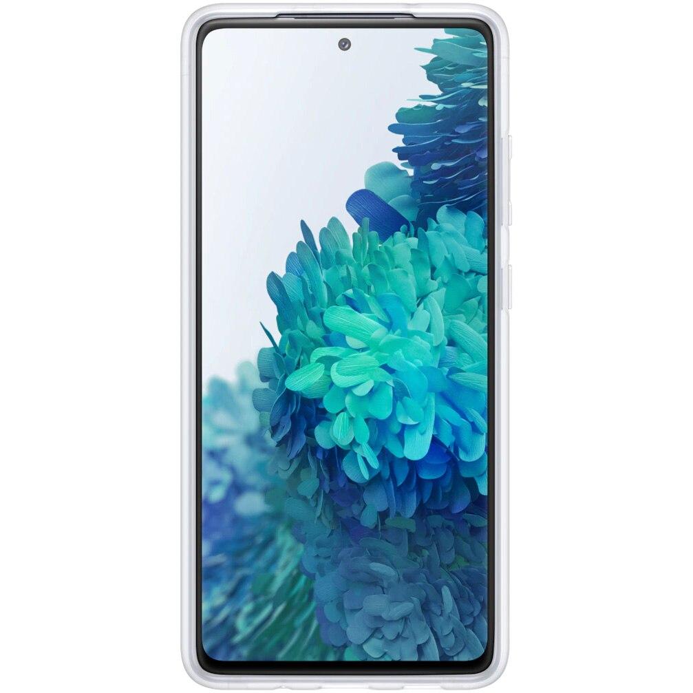 Fotografie Husa de protectie Samsung Clear Standing pentru Galaxy S20 FE, Transparent