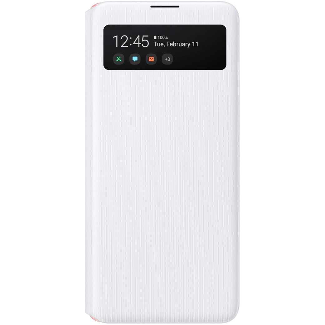Fotografie Husa de protectie Samsung S View Wallet pentru Galaxy A51 (5G), White