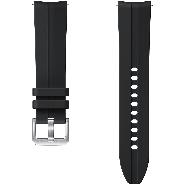 Fotografie Curea ceas smartwatch Samsung Galaxy Watch3, Ridge Sport, 20mm, S/M, Black