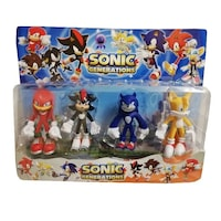 set figurine sonic