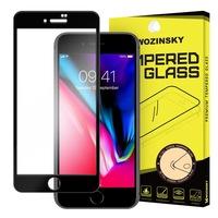 Wozinsky Стъклен Протектор за iPhone 7, Tempered Glass, Full Glue, Черен