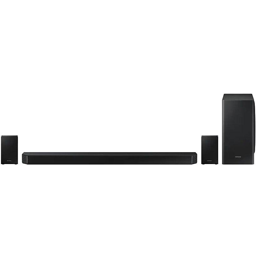 Fotografie Soundbar HW-Q950T, 9.1.4 Canale, 546W, Up-Firing Speakers, Wi-Fi, Dolby Atmos, DTS:X, eARC, Negru